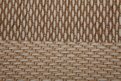 Alfombra color beige pvc Cenefa 100 x 150cm · LEROY MERLIN