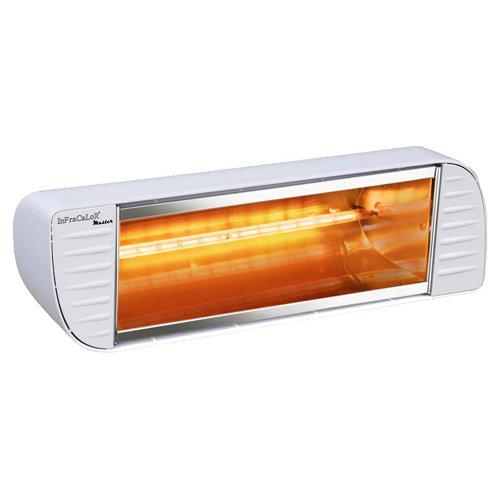 Radiador halógeno infracalor 2000 bl 2000 w blanco