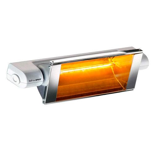 Radiador halógeno infracalor infraspot 1300 w blanco