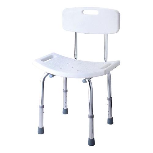 Asiento ducha asiento de ducha gris / plata 50x70 cm