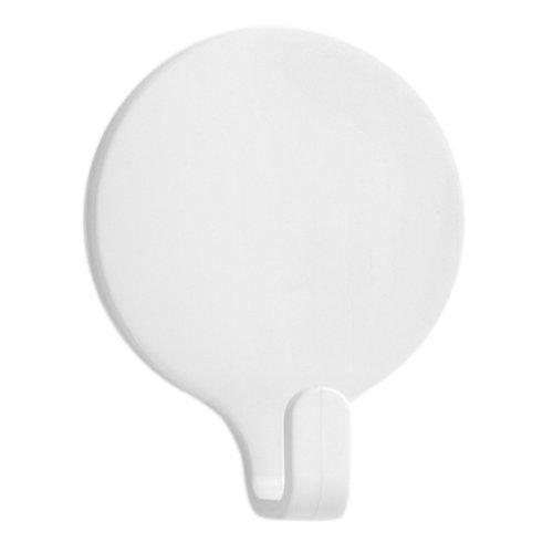 2 colgador adhesivo de plástico / pvc de 42x53 mm