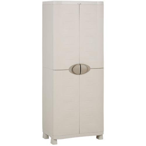 Armario alto baldas space saber de 70x184x45 cm para uso interior / exterior
