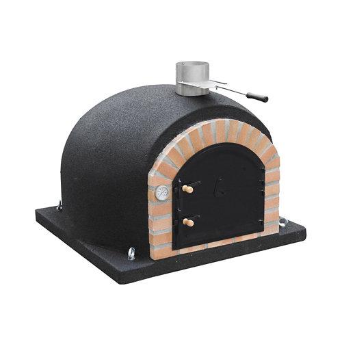 Horno para exterior gran canaria de barro refrectario para 9 personas de 80 cm