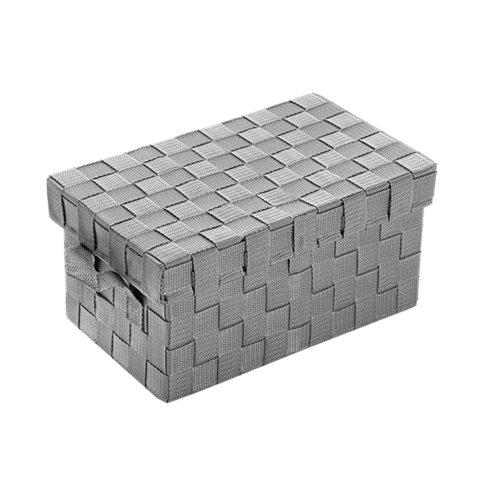 Cesta de nailon de 17x18x30 cm con tapa