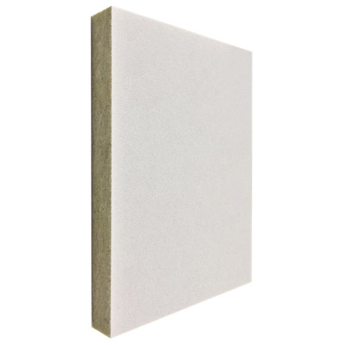 Pack 24 lamas lana de roca blanco 60x60x2,2 cm