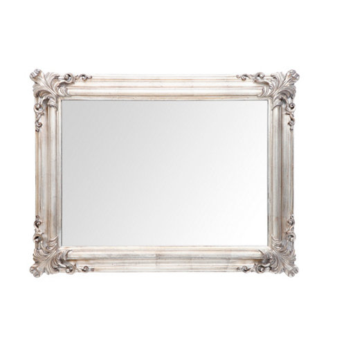 Espejo rectangular country plata 89 x 69 cm