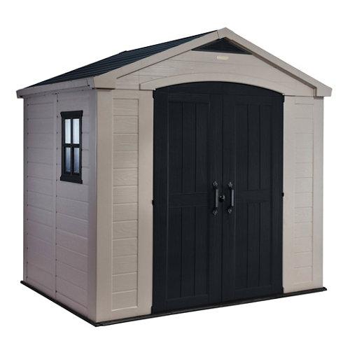 Caseta de resina domus de 256.5x243x182 cm y 4.4 m2