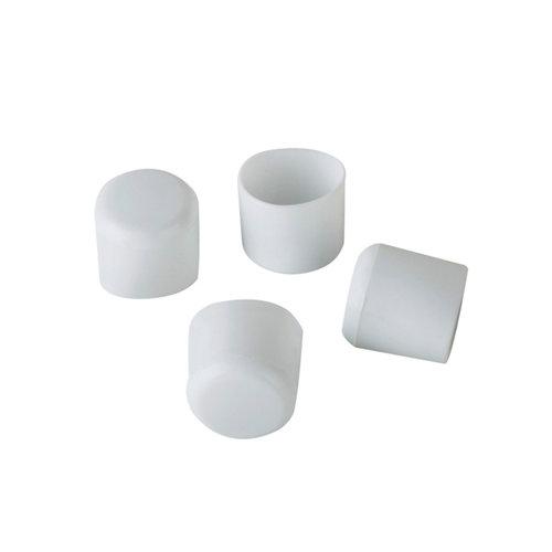 4 conteras de plástico redondas de 25 mm