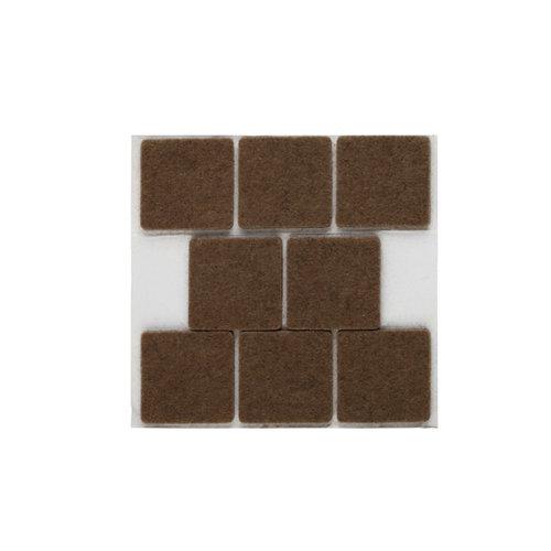 8 fieltro cuadrados de fieltro de 31x31 mm