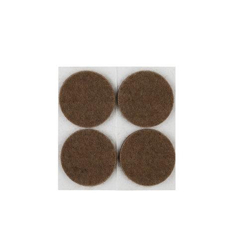 4 fieltro redondos de fieltro de 50x50 mm