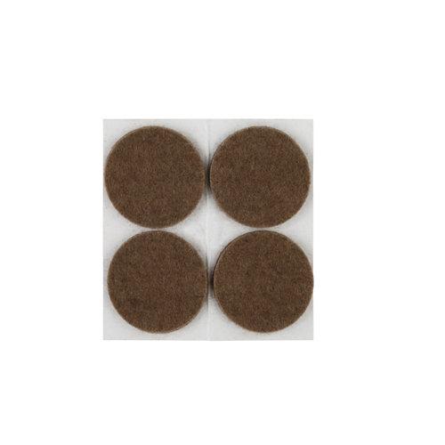 4 fieltro redondos de fieltro de 35x35 mm