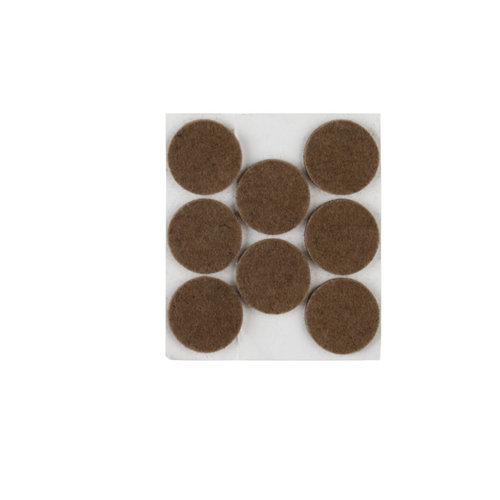 8 fieltro redondos de fieltro de 28x28 mm