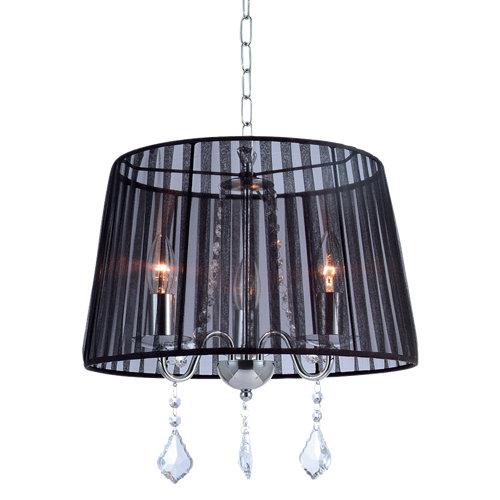 Lámpara de techo twin2 negra 3 luces