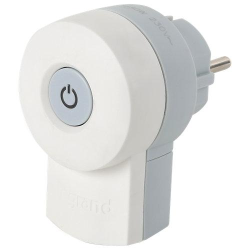 Clavija de enchufe legrand de 16a con interruptor