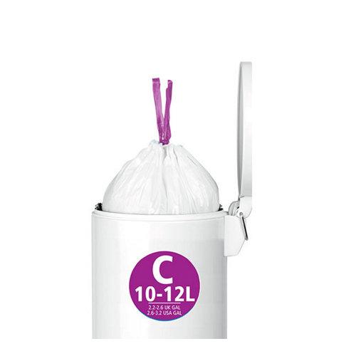 Bolsas de basura letra c brabantia capacidad 10 - 12 litros