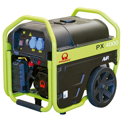 Generador pramac px4000 gasolina sin plomo de 2300 w