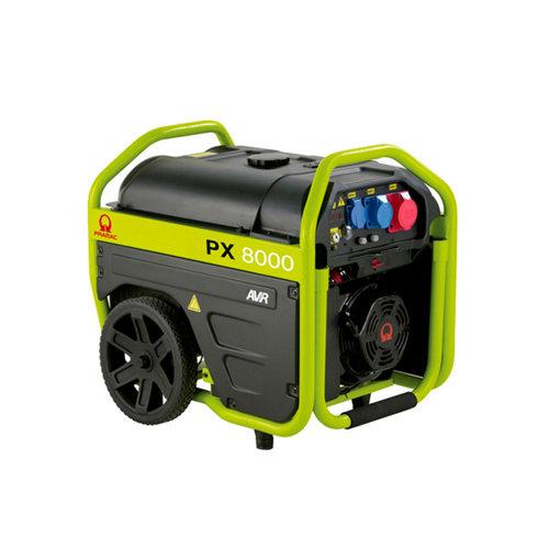 Generador pramac px8000 tri gasolina sin plomo de 4000 w