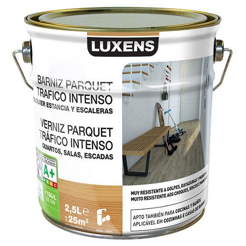 Barniz para suelos luxens incoloro satinado 2,5l