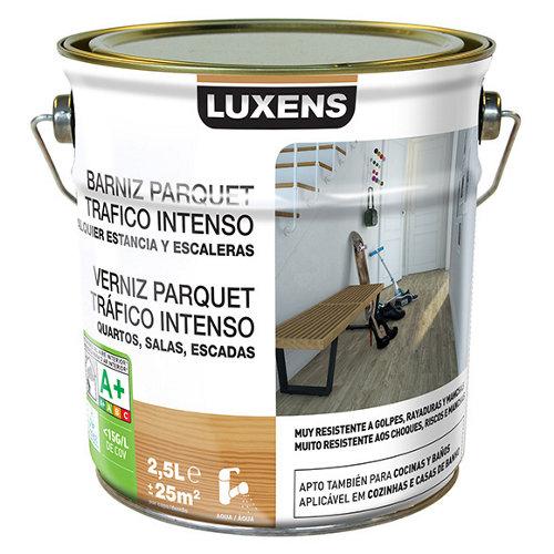 Barniz para suelos luxens incoloro brillo 2,5l