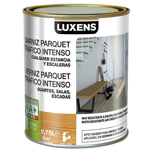 Barniz para suelos luxens incoloro satinado 0,75l