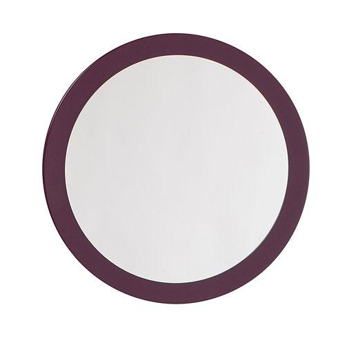 Espejo de baño sphere violeta 60 x 60 cm