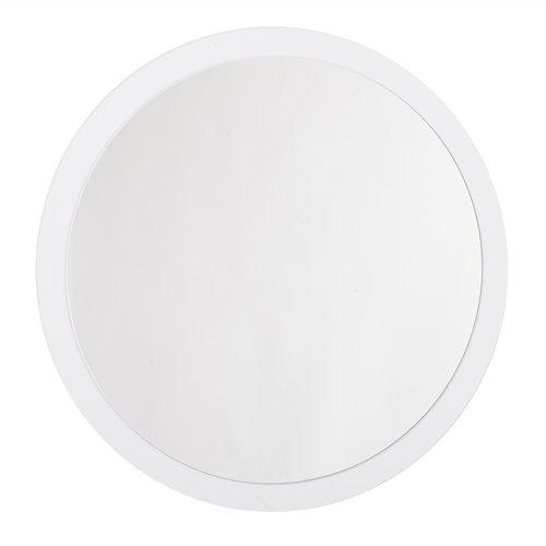 Espejo de baño sphere blanco 80 x 80 cm