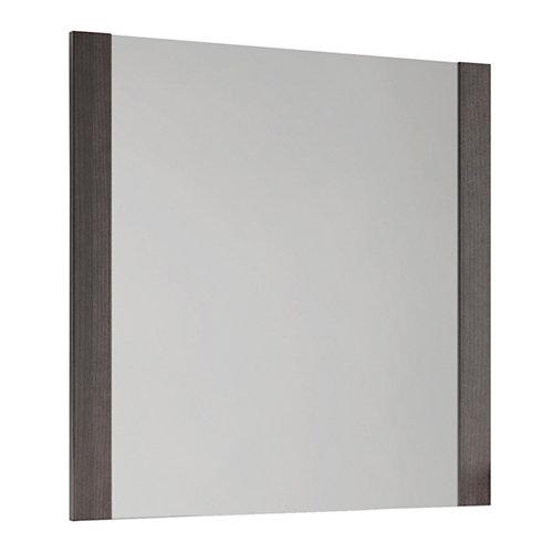 Espejo de baño alba negro 80 x 80 cm
