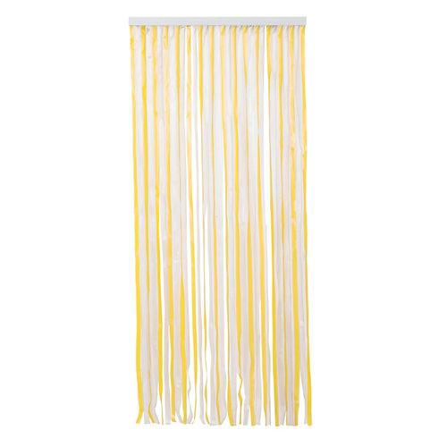 Cortina de puerta amarillo de 90 x 210 cm