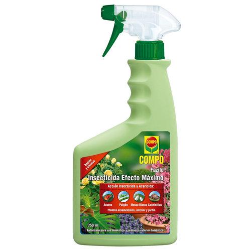 Insecticida polivalente efecto máximo compo para interior y jardín 750ml