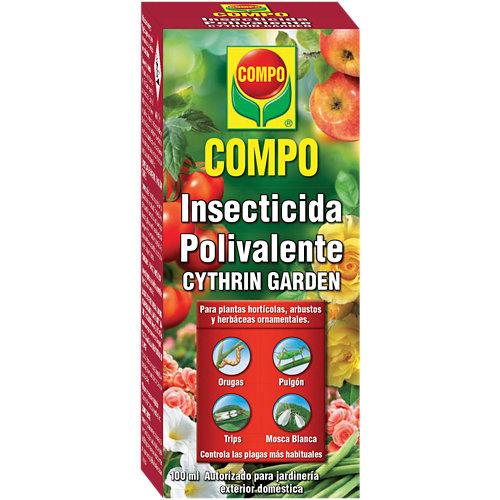 Insecticida polivalente concentrado compo para interior, huerto y jardín 100ml