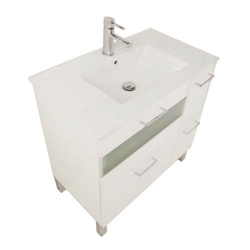Mueble de baño fox blanco 80 x 48 cm