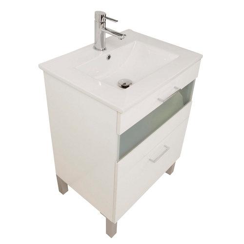 Mueble de baño fox blanco 60 x 48 cm