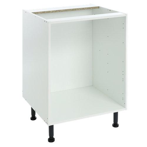 Mueble bajo cocina delinia blanco s/balda 60 x 70 cm (ancho x alto)