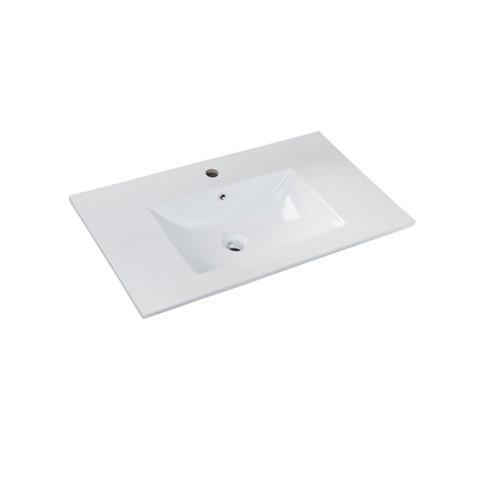 Lavabo max blanco 81x18x46 cm