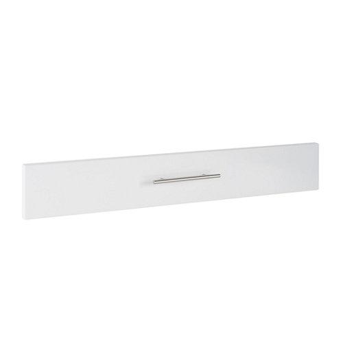 Frente módulo cocina delinia galaxy blanco 90x14 cm