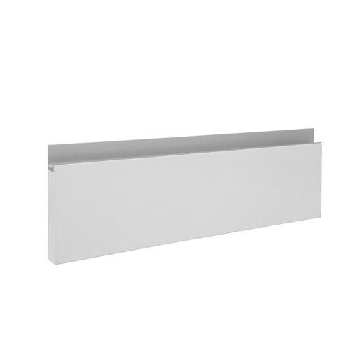 Frente módulo cocina delinia horizon blanco brillo 45x14 cm