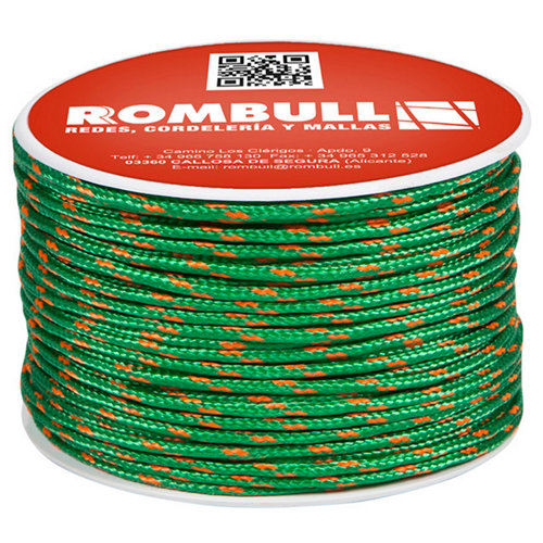 Cuerda trenzada de poliéster de 60 m y carga max. 193 kg