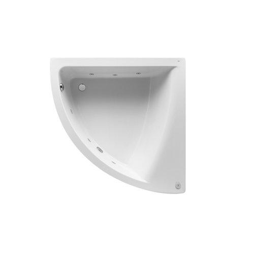 Bañera angular roca hall 135x55x135 cm