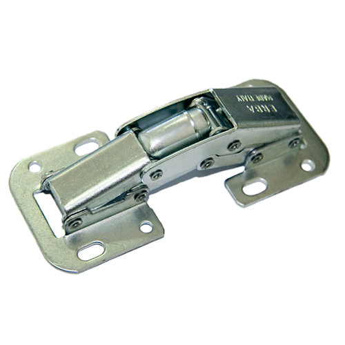 2 bisagra de cazoleta rectas de acero y mm ø perforación