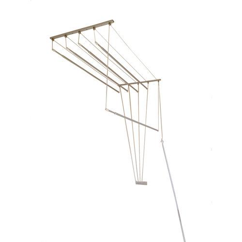 Tendedero para techo de aluminio 50x160m