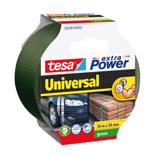 Cinta adhesiva de reparación extra power verde 10m x 50mm