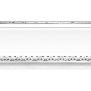 Cenefa Adhesiva De Papel Imitación Moldura Plata 5 M Leroy Merlin