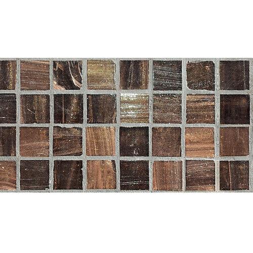 Cenefa adhesiva de papel imitación gresite mármol 5 m