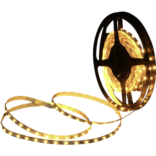 Kit tira led ip65 5metros amarillo de 24w 3000k