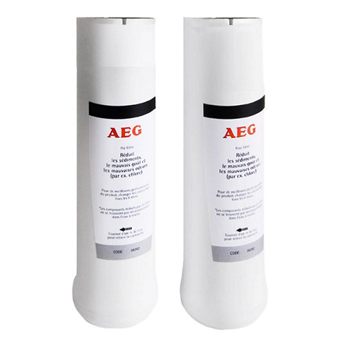 Kit filtros de ósmosis aeg pre/post filtro