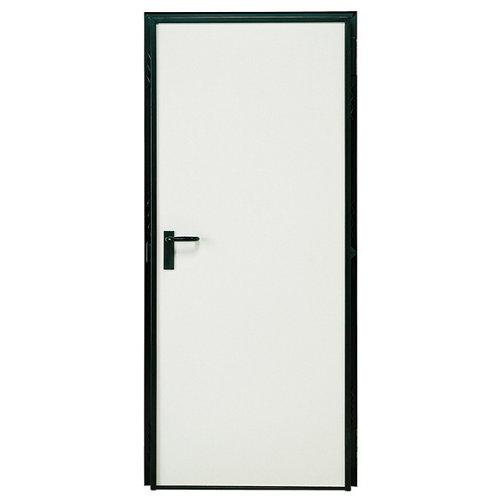 Puerta cortafuegos cortafuegos prelacada blanco rf60 80,5 x 207 cm derecha.