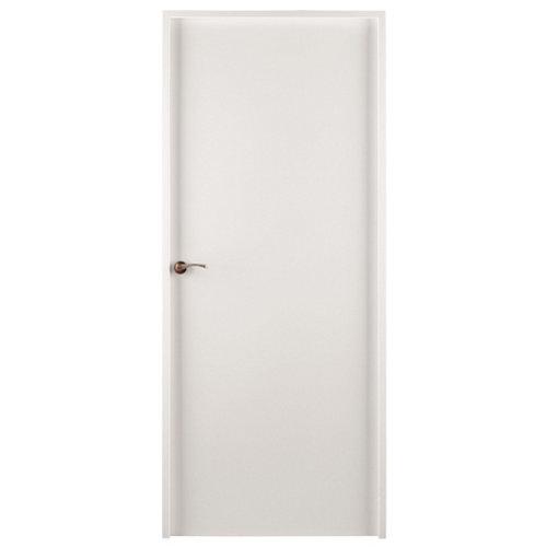 Puerta mallorca blanco de apertura derecha de 72,5 cm