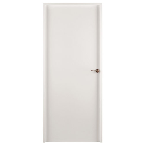 Puerta mallorca blanco de apertura izquierda de 82.5 cm