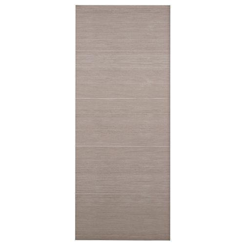 Puerta de interior corredera viena gris de 82.5 cm