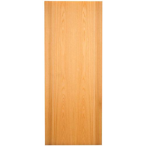 Puerta de interior corredera sidney roble de 82.5 cm